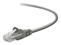 - Patch-Kabel - RJ-45 (M) bis RJ-45 (M) - 1 m - CAT 5e - geformt, ohne Haken