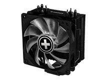Performance A+ Series M704RGB - Prozessor-Luftkühler - (für: LGA1156, AM2, AM2+, AM3, LGA1155, AM3+, LGA2011, FM1, FM2, LGA1150, FM2+, LGA1151, LGA2066) - Aluminium und Kupfer - 120 mm - Schwarz