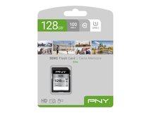 PNY Elite - Flash-Speicherkarte - 128 GB - UHS-I U1 / Class10 - SDXC UHS-I