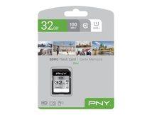 PNY Elite - Flash-Speicherkarte - 32 GB - UHS-I U1 / Class10 - SDHC UHS-I