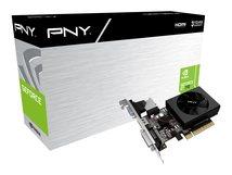 PNY GeForce GT 730 - Grafikkarten - GF GT 730 - 2 GB DDR3 - PCIe 2.0 x8 Low-Profile - DVI, D-Sub, HDMI