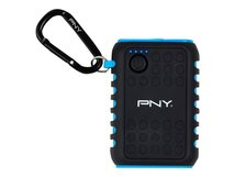 PNY The Outdoor Charger - Powerbank - 7800 mAh - 2.1 A (USB) - auf Kabel: Micro-USB, mini-USB
