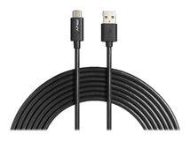 PNY - USB-Kabel - USB Typ A (M) bis USB-C (M) - USB 2.0 - 3 m - Schwarz