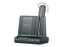 Poly Savi W740-M - 700 Series - Headset - konvertierbar - DECT - kabellos