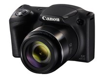 PowerShot SX430 IS - Digitalkamera - Kompaktkamera - 20.5 MPix - 720p / 25 BpS - 45x optischer Zoom