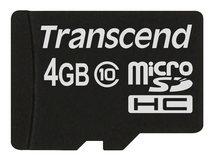 Premium - Flash-Speicherkarte - 4 GB - Class 10 - 133x - microSDHC
