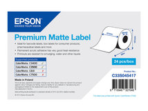 Premium - Matt - Rolle (5,1 cm x 35 m) 1 Rolle(n) Etiketten-Endlospapier - für Epson TM-C3400-LT; TM C3400, C3400BK, C3500