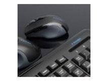 Pro Fit Retractable Mobile - Maus - optisch - kabelgebunden - USB - Schwarz