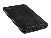 """Quickstore Portable - Speichergehäuse - 2.5"""" (6.4 cm) - SATA 3Gb/s - USB 2.0 - Schwarz"""