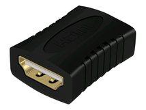 RaidSonic ICY BOX IB-CB005 - HDMI Kupplung - HDMI (W) bis HDMI (W) - Schwarz