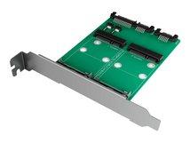 RaidSonic ICY BOX IB-CVB514 - Schnittstellenadapter - mSATA - mSATA - 600 MBps - SATA 6Gb/s