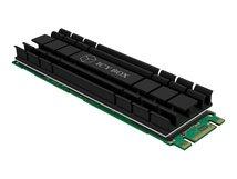 RaidSonic ICY BOX IB-M2HS-701 - Solid State Drive Kühlkörper - Schwarz