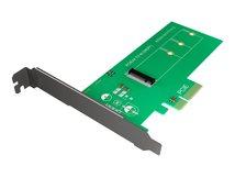 RaidSonic ICY BOX IB-PCI208 - Schnittstellenadapter - M.2 - PCIe 3.0 x4 - grün