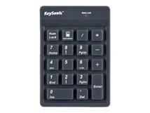 RaidSonic KeySonic ACK-118BK - Tastenfeld - USB - wasserdicht - Schwarz