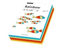 Rainbow mixed intensive - Multicolor - A4 (210 x 297 mm) - 80 g/m² - 100 Blatt Normalpapier