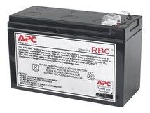 Replacement Battery Cartridge #110 - USV-Akku - 1 x Bleisäure - Schwarz - für P/N: BE550G, BE550G-CN, BE550G-LM, BN575G, BN600G, BR550GI, BR650CI-AS, BR650CI-RS