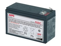 Replacement Battery Cartridge #17 - USV-Akku - 1 x Bleisäure 108 Ah - Schwarz - für P/N: BE850G2, BE850G2-CP, BE850G2-FR, BE850G2-GR, BE850G2-IT, BE850G2-SP, BE850G2-UK