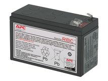 Replacement Battery Cartridge #2 - USV-Akku - 1 x Bleisäure - Schwarz - für P/N: AP250, BE550-KR, BK500IACH, BP300JPNP, BP500IACH, BX600CI-IN, CP27U13AZ3-F