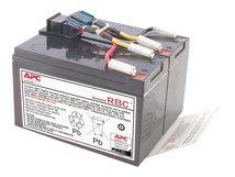 Replacement Battery Cartridge #48 - USV-Akku - 1 x Bleisäure - für P/N: DLA750, DLA750I, SMT750, SMT750C, SMT750I, SMT750IC, SMT750TW, SMT750US, SUA750IX38
