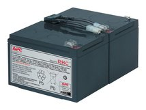 Replacement Battery Cartridge #6 - USV-Akku - 1 x Bleisäure - Schwarz - für P/N: SMC1500, SMC15000I, SMC1500C, SMC1500I-2UC, SMC1500IC, SMT1000C, SMT1000I, SMT1000US