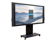 """Rhobus - Wagen für LCD-Display/Touchscreen - verriegelbar - Schwarz - Bildschirmgröße: 213.4 cm (84"""") - für Microsoft Surface Hub"""