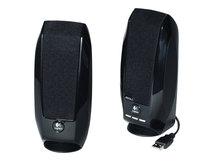 S150 Digital USB - Lautsprecher - für PC - USB - 1.2 Watt (Gesamt) - Schwarz