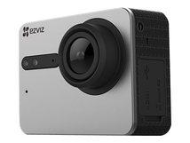 S5 - Action-Kamera - montierbar - 4K / 15 BpS - 16.0 MPix - Flash 2 GB - Wi-Fi, Bluetooth - Unterwasser bis zu 40 m - mattgrau