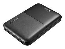 Saver PowerBank - Powerbank - 5000 mAh - 2.4 A - 2 Ausgabeanschlussstellen (USB)