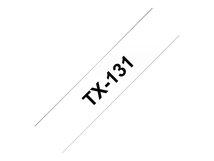 - Schwarz auf durchsichtig - Rolle (1,2 cm x 8 m) laminiertes Band - für P-Touch PT-8000, PT-PC