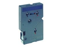 - Schwarz, Blau - Rolle (1,2 cm x 7,7 m) 1 Stck. Druckerband - für P-Touch PT-15, PT-20, PT-2000, PT-3000, PT-500, PT-5000, PT-6, PT-8, PT-8E