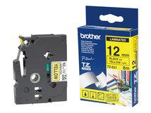 - Schwarz, durchsichtig - Rolle (1,2 cm x 7,7 m) 1 Stck. Druckerband - für P-Touch PT-15, PT-20, PT-2000, PT-3000, PT-500, PT-5000, PT-6, PT-8, PT-8E
