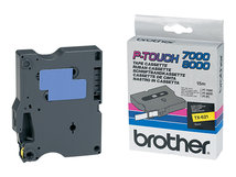 - Schwarz, Gelb - Rolle (0,9 cm x 15,2 m) 1 Rolle(n) laminiertes Band - für P-Touch PT-7000, PT-8000, PT-PC
