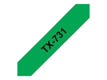 - Schwarz, grün - Rolle (1,2 cm) 1 Rolle(n) Etiketten