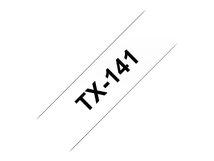 - Schwarz, weiß - Rolle (1,8 cm) 1 Rolle(n) laminiertes Band - für P-Touch PT-7000, PT-8000
