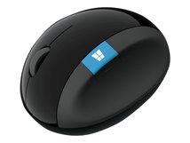 Sculpt Ergonomic Mouse - Maus - 7 Tasten - kabellos - 2.4 GHz - kabelloser Empfänger (USB)