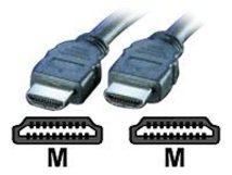Secomp VALUE - HDMI-Kabel - HDMI (M) bis HDMI (M) - 3 m - abgeschirmt - Grau
