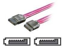 Secomp VALUE - SATA-Kabel - Serial ATA 150/300 - SATA (W) bis SATA (W) - 1 m - 90° Stecker