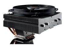 SHADOW ROCK TF2 - Prozessor-Luftkühler - (für: LGA775, LGA1156, AM2+, LGA1366, LGA1155, AM3+, FM1, LGA1150, FM2+, LGA1151, LGA2011-3 (Square ILM), AM4) - Aluminium - 135 mm