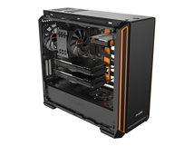 Silent Base 601 - Tower - Erweitertes ATX - ohne Netzteil (ATX / PS/2) - orange - USB/Audio