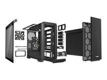 Silent Base 601 Window - Tower - Erweitertes ATX - windowed side panel - ohne Netzteil (ATX / PS/2) - Schwarz