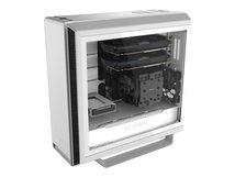 Silent Base 802 Window - Tower - Erweitertes ATX - windowed side panel (tempered glass) - ohne Netzteil (ATX / PS/2) - weiß
