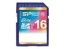 SILICON POWER Elite - Flash-Speicherkarte - 16 GB - Class 10 - SDHC UHS-I