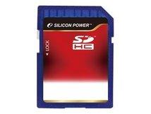 SILICON POWER - Flash-Speicherkarte - 4 GB - Class 4 - SDHC