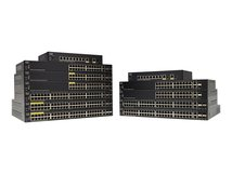 Small Business SF350-24 - Switch - L3 - verwaltet - 24 x 10/100 + 2 x Combo Gigabit Ethernet/Gigabit SFP + 2 x 1000Base-X - an Rack montierbar