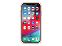 Smart - Batteriefach hintere Abdeckung für Mobiltelefon - Silikon, Elastomer - rosa sandfarben - für iPhone XS Max