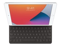 Smart - Tastatur und Foliohülle - Apple Smart connector - QWERTY - Isländisch - für 10.2-inch iPad; 10.5-inch iPad Air (3. Generation); 10.5-inch iPad Pro
