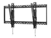 """SmartMount Universal Tilt Wall Mount ST680P - Befestigungskit (Wandplatte, neigbare Halterung, Befestigungen) - für Flachbildschirm - Schwarz (60""""-98"""")"""