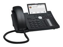 snom D385 - VoIP-Telefon - mit Bluetooth-Schnittstelle - SIP - 12 Leitungen - schwarz blau