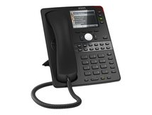 snom D765 - VoIP-Telefon - mit Bluetooth-Schnittstelle - dreiweg Anruffunktion - SIP - 12 Leitungen