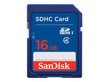 Standard - Flash-Speicherkarte - 16 GB - Class 4 - SDHC